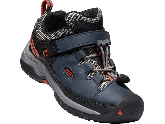 Keen Targhee WP Shoes Children blue nights/roobios tea